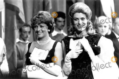 Jeanne Moreau Photo - Jeanne Moreau and Melina Mercouri Cannes Film Festival Photo Pix Plantete  Globe Photos Inc