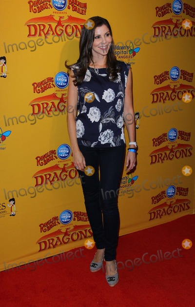 Elizabeth Mcgovern,Elizabeth McGovern_,Heather Dubrow Photo - Ringling Bros Premiere of Dragons