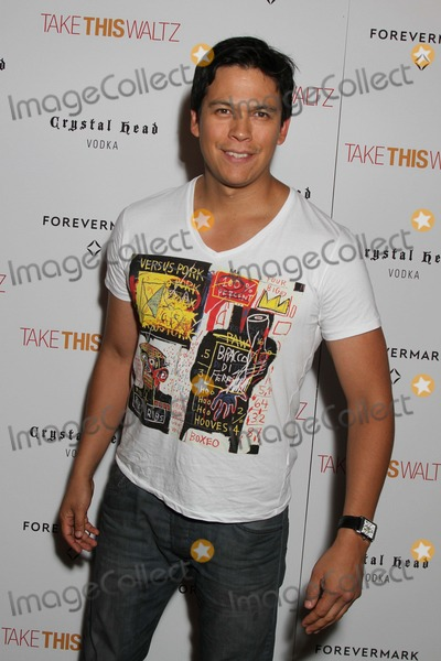 Chaske Spencer Photo - Take This Waltz Screening - NYC