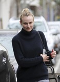 Pilate Photo - January 24th 2014 - Diane Kruger leaves her pilates class in West Hollywood Credit Vidaface to face