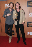 Tyler Hubbard Photo - 01 May 2016 - Inglewood California - Florida Georgia Line Brian Kelley Tyler Hubbard 2016 American Country Countdown Awards - Press Room held at The Forum Photo Credit Birdie ThompsonAdMedia
