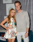 Justin Hartley Photo - 09 March 2015 - West Hollywood California - Chrishelle Stause Justin Hartley  The Celebrity Black Card Gifting Suite Photo Credit Birdie ThompsonAdMedia