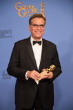 Aaron Sorkin Photo - After winning the category of BEST SCREENPLAY  MOTION PICTURE for Steve Jobs Aaron Sorkin poses backstage in the press room with the Golden Globe Award at the 73rd Annual Golden Globe Awards at the Beverly Hilton in Beverly Hills CA on Sunday January 10 2016 Photo Credit HFPAAdMedia