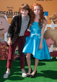 Francesca Capaldi Photo - 1 November 2015 - Westwood California - Noah Schnapp Francesca Capaldi The Peanuts Movie Los Angeles Premiere held at the Regency Village Theatre Photo Credit Byron PurvisAdMedia