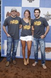 Rhett Akins Photo - 18 April 2015 - Arlington TX -   Rhett Akins Lauren Akins Thomas Rhett  Cracker Barrel Country Checkers Challenge at The ACM Party For A Cause at Global Life StadiumPhoto Credit mjtAdMedia
