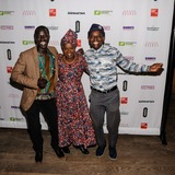 Angelique Kidjo Photo - 01 November 2014 - New York New York- Okello Sam Angelique Kidjo Sahr Ngaujah 2014 Hope North Gala Photo Credit Mario SantoroAdMedia