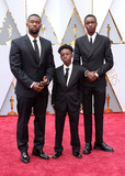 Ashton Sanders Photo - 26 February 2017 - Hollywood California - Trevante Rhodes Alex R Hibbet Ashton Sanders 89th Annual Academy Awards presented by the Academy of Motion Picture Arts and Sciences held at Hollywood  Highland Center Photo Credit AdMedia
