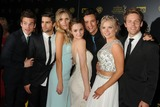 Kelli Goss Photo - 26 April 2015 - Burbank California - Max Ehrich Melissa Ordway Hunter King Matthew Atkinson Kelli Goss Lachlan Buchanan The 42nd Annual Daytime Emmy Awards - Press Room held at Warner Bros Studios Photo Credit Byron PurvisAdMedia