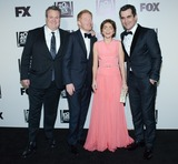 Sarah Hyland Photo - 12 January 2013 - Beverly Hills California - Eric Stonestreet Jesse Tyler Ferguson Sarah Hyland Ty Burrell 2014 Fox Golden Globe Awards Party celebrating the 71st Annual Golden Globe Awards held at the The FOX Pavilion at the Beverly Hills Hotel Photo Credit Tonya WiseAdMedia