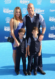 Amber Miller Photo - 08 June 2016 - Hollywood Amber Miller Tito Ortiz Arrivals for the  World Premiere Of Disney-Pixars Finding Dory held at the El Capitan Theater Photo Credit Birdie ThompsonAdMedia