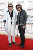 Asking Alexandria Photo - 21 July 2014 - Cleveland OH - Vocalist DANNY WORSNOP and guitarist BEN BRUCE of the British band ASKING ALEXANDRIA attend the 1st Annual 2014 Gibson Brands AP Music Awards at the Rock and Roll Hall of Fame and Museum   Photo Credit Jason L NelsonAdMedia