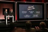 Ang Lee Photo - 14 January 2016 - Beverly Hills California - Ang Lee Guillermo del Toro Category Animated Feature Film 88th Annual Oscars Nominations Announcement held at the Samuel Goldwyn Theater Photo Credit Byron PurvisAdMedia