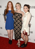 Annalise Basso Photo - 26 February 2016 - West Hollywood California - Annalise Basso Zoe Deutsch Rowan Blanchard Arrivals for the Vanity Fair LOreal Paris  Hailee Steinfeld Host DJ Night held at Palihouse Holloway Photo Credit Birdie ThompsonAdMedia