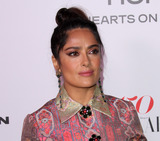 Salma Hayek Photo - 27 January 2017 - Los Angeles California - Salma Hayek Harpers Bazaar Celebrates 150 Most Fashionable Women held at the Sunset Tower Hotel Photo Credit AdMedia