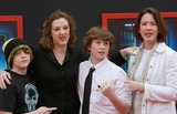 Ann Cusack Photo - 6  March 2011 - Hollywood California - Joan Cusack (2nd L) and Ann Cusack and Kids Mars Needs Moms 3D Los Angeles Premiere Held At The EL Capitan Theatre Photo Kevan BrooksAdMedia