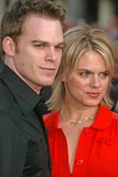 Amy Spanger Photo - Michael C Hall  and Amy Spangerat the Los Angeles Premiere of Six Feet Under Graumans Chinese Theater Hollywood CA 05-17-05