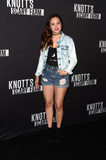 Hayley Orrantia Photo - Hayley Orrantiaat the 2016 Knotts Scary Farms Black Carpet Event Knotts Berry Farm Buena Park CA 09-30-16