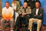 William Shatner Photo - William Shatner James Doohan and Leonard Nimoy at the Beam Me Up Scotty One Last Time The James Doohan Farewell Star Trek Convention and Tribute at the Renaissance Hollywood Hotel Hollywood CA 08-29-04