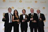 Bertram van Munster Photo - Phil Keoghan Elise Doganieri Jerry Bruckheimer Bertram van Munster Jonathan Littman66th Annual Emmy Awards Press Room Nokia Theater Los Angeles CA 08-25-14David EdwardsDailyCelebcom