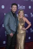 Miranda Lambert Photo - Blake Shelton and wife Miranda Lambertat the 47th Academy Of Country Music Awards Arrivals MGM Grand Las Vegas NV 04-01-12