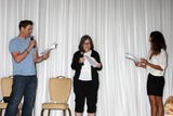 Daniel Goddard Photo - LOS ANGELES - AUG 25  Daniel Goddard Fan Christel Khalil doing a scene from a YnR script at the Goddard and Khalil Fan Event at the Universal Sheraton Hotel on August 25 2013 in Los Angeles CA