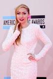 Brandi Cyrus Photo - LOS ANGELES - NOV 24  Brandi Cyrus at the 2013 American Music Awards Arrivals at Nokia Theater on November 24 2013 in Los Angeles CA