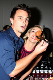 Darin Brooks Photo - LOS ANGELES - AUG 14  Darin Brooks Linsey Godfrey at the Bold and Beautiful Fan Event Friday at the CBS Television City on August 14 2015 in Los Angeles CA