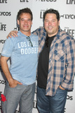 Adrian Pasdar Photo - LOS ANGELES - JUN 8  Adrian Pasdar Greg Grunberg at the LA Launch Of LYCOS Life at the Banned From TV Jam Space on June 8 2015 in North Hollywood CA