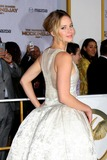 Jennifer Lawrence Photo - LOS ANGELES - NOV 17  Jennifer Lawrence at the The Hunger Games Mockingjay Part 1 Premiere at the Nokia Theater on November 17 2014 in Los Angeles CA