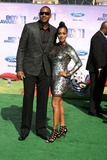 Carmelo Anthony Photo - LOS ANGELES - JUN 26  Carmelo Anthony_Lala Vasquez Anthony arriving at the 11th Annual BET Awards at Shrine Auditorium on June 26 2004 in Los Angeles CA