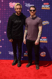 Andy Hurley Photo - LOS ANGELES - APR 29  Pete Wentz Andy Hurley at the 2016 Radio Disney Music Awards at the Microsoft Theater on April 29 2016 in Los Angeles CA