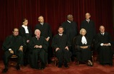 Stephen Breyer Photo - Washington DC - March 3 2006 -- 2006 Class Portrait of the Justices of the United States Supreme Court taken March 3 2006 at the United States Supreme Court Building in Washington DC  Seated in the front row from left to right are Associate Justice Anthony M Kennedy Associate Justice John Paul Stevens Chief Justice of the United States John G Roberts Jr Associate Justice Antonin Scalia and Associate Justice David Souter Standing from left to right in the top row are Associate Justice Stephen Breyer Associate Justice Clarence Thomas Associate Justice Ruth Bader Ginsburg and Associate Justice Samuel Alito Jr  Stevens the longest serving Justice was nominated by United States President Gerald R Ford He took his seat in December 1975   Alito the newest Justice was sworn-in on January 31 2006 He replaced Sandra Day OConnor  the first woman to serve as Associate Justice of the United States  Supreme Court  Photo by Pool-CNP-PHOTOlinknet