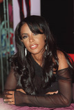 Aaliyah Photo - Photo by Loud  ClearSTAR MAX Inc - copyright 200171701RB singer Aaliyah signed copies of her new CD Aaliyah (Blackground RecordsVirgin)(FYE NYC)
