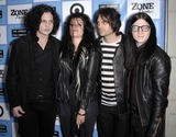 Jack Lawrence Photo - Photo by Michael Germanastarmaxinccom200961909Dead Weather (Jack White Alison Mosshart Dean Fertita and Jack Lawrence) at the Los Angeles Film Festival premiere of It Might Get Loud(Los Angeles CA)