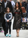 Salma Hayek Photo - Photo by JMAstarmaxinccomSTAR MAXCopyright 2016ALL RIGHTS RESERVEDTelephoneFax (212) 995-119632916Salma Hayek - with her daughter Valentina Paloma Pinault - is seen following an appearance on Jimmy Kimmel Live(Los Angeles CA)