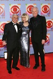 Jamie Farr Photo - Photo by David Greenmanstarmaxinccom200311203Mike Farrell Loretta Swit and Jamie Farr at the CBS 75th Anniversary Gala(NYC)