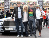 Maximillion Cooper Photo - David Hasselhoff Hayley Hasselhoff Maximillion Cooper and Eve at the start of the Gumball 3000 held at Covent Garden The race finishes at Istanbul Turkey on June 1 London UK 52611