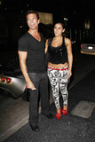 AJ Lamas Photo - Actor Lorenzo Lamas celebrates his 53rd birthday with fiance Shawna Craig and son Alvaro Joshua AJ Lamas at Katsuya  Lorenzo posed Shawna who wore very tight and low-riding patterned pants with a tiny top in front of his sleek grey sports car Los Angeles CA 012011
