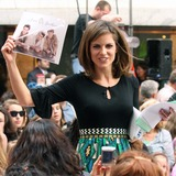Natalie Morales Photo - New York NY 06-19-2009Natalie Morales (holding up photo of the Jonas Brothers)on NBCs Today Show Toyota Concert Series at Rockefeller PlazaDigital photo by Lane Ericcson-PHOTOlinknet