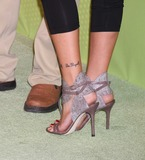 Cassidy Photo - Katie Cassidy shoes3163JPGNYC  052109Katie Cassidy shoes and tattoos(David Cassidys daughter) (Melrose Place)at the CW Upfront 2009 at Madison Square GardenDigital Photo by Adam Nemser-PHOTOlinknet