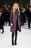 Gabriella Wilde Photo - February 20 2012 LondonGabriella Wilde at the Burberry Prorsum show during London Fashion Week on February 20 2012 in London