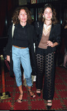 Jacqueline Schnabel Photo - Jacqueline Schnabel and her daughter Lola Schnabel arrive at the premiere of Mr Barneys Cremaster 3 a the Ziegfeld Theater in New York May 1 2002