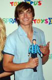 ZACK EFRON Photo - Zac Efron  a cast member from the movie Hairspray was at Toys R Us in Times Square to launch the new Hairspray dolls