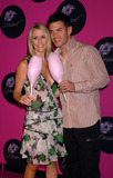 ADRIEN TURNER Photo - Aiden Turner and guest at the Dessert Beauty Launch Party Dessert Beauty which was created by Simpson is the first-ever kissable lickable fragrance and body care collection intended to be both a fragrance and a flavor New York April 23 2004