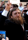 Daniel Bryan Photo - April 1 2014 New York CityDaniel Bryan arrives at the Wrestlemania 30 press conference in Times Square on April 1 2014 in New York City