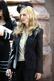 Hope Davis Photo - Hope Davis on the set of the pilot espisode of HBOs  Spring Fall on June 15 2011 in New York City