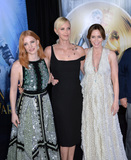 Emily Blunt Photo - LOS ANGELES CA April 11 2016 Jessica Chastain Charlize Theron  Emily Blunt at the US premiere of The Huntsman Winters War at the Regency Village Theatre WestwoodPicture Paul Smith  Featureflash