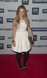 Georgie Thompson Photo - Georgie Thompson arriving for the 2012 Carphone Warehouse Appy Awards Battersea Power Station London 25042012 Picture by Simon Burchell  Featureflash