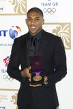 Anthony Joshua Photo - Anthony Joshua arriving for the British Olympics Ball Grosvenor House Hotel Park Lane London 30112012 Picture by Simon Burchell  Featureflash