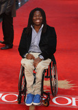 Ade Adepitan Photo - Ade Adepitan arriving for the Chariots of Fire Premiere held at the Empire Leicester Square - London England 10072012 Picture by Henry Harris  Featureflash